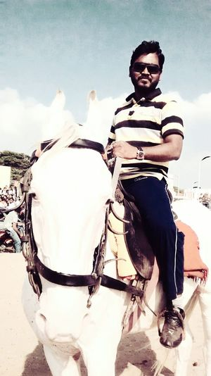That's Me Enjoying Life Marina Horseride