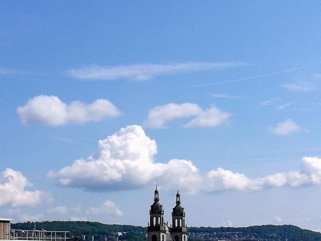Outdoors Cloud - Sky Sky Day City Travel Destinations No People Architecture Cityscape Nancy Sunset Blue Ciel
