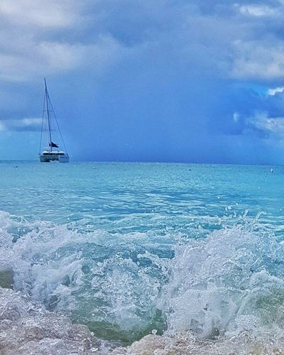 Sea Water Beach Caribbean Island Wave No People Caribbean Sea Travel Destinations Vacations Carribbean Sky Full Frame Sand Cloud - Sky Tourism Horizon Over Water Sailing Ship Tranquility Summer Nautical Vessel Blue Tranquil Scene Sunlight Outdoors Bestoftheday