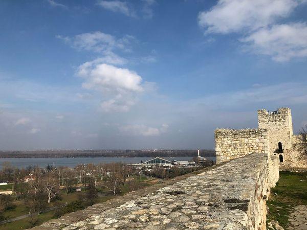 Belgrade Sava River Kalemegdan  History Architecture Built Structure The Past Sky Day Cloud - Sky Travel Destinations