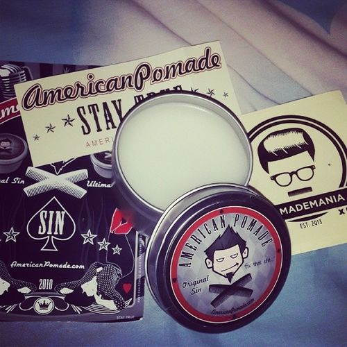 American pomade original sin for my hair mandarin American Pomade Pomademania Stayfresh  stayklimis