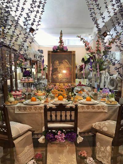 Shop Night Culture Bread Indoors  Celebration Luxury No People Flower Christmas Decoration Illuminated
