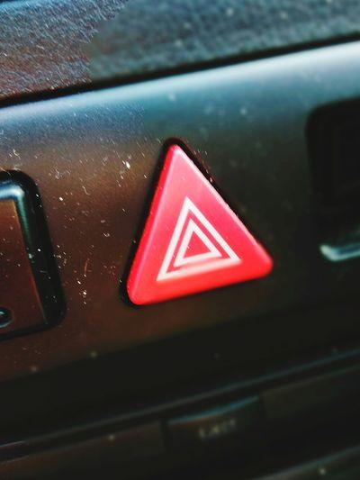 Safety Red Danger Triangle Shape Warning Sign Communication Close-up No People Indoors  Road Sign Technology Day Rethink Things Symbolism Is Everything Symbology Hazardous Hazard Uber