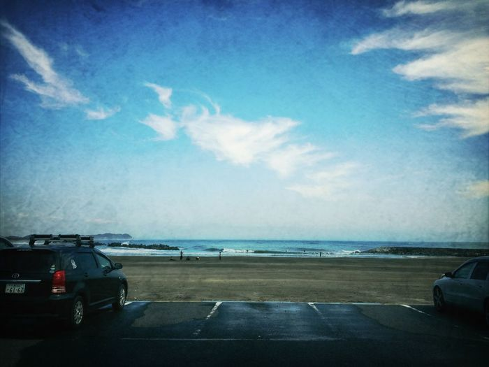 Sea Surfing 海 波乗り