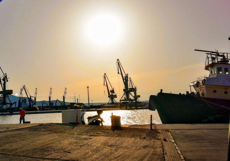Sunset Shipyard