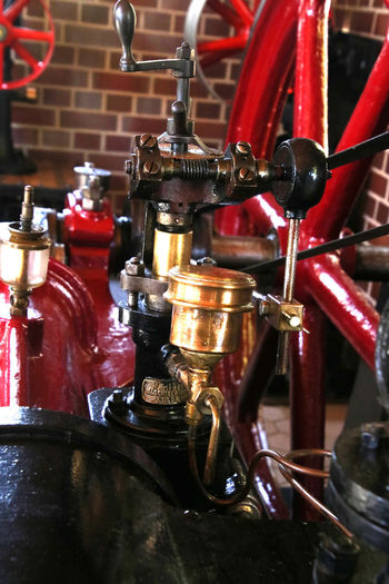 Metal Machinery Close-up Indoors  Steam Enginge Steam Engine Part Antique Machinery Machine Part