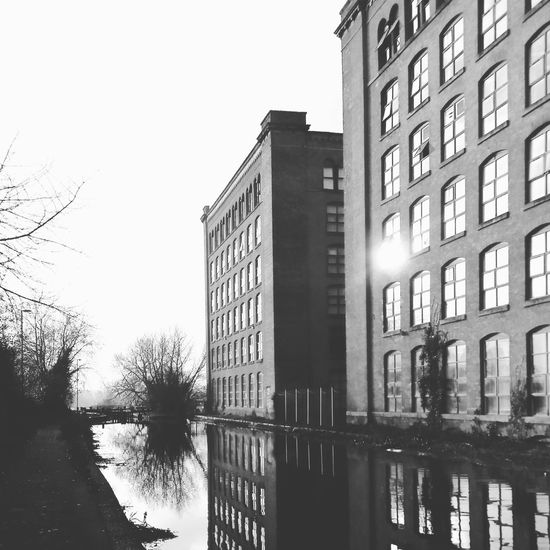 Victoria Mill - Miles Platting Reflections Reflections In The Water Industrial Building  Industrial Photography Canal Industrial Blackandwhite Manchester Convertedmill Oldmill Industrialbuildings Industrialbritain Rochdalecanal Victoriamill Cityphotography Reflection Architecture Building Exterior Built Structure Day Outdoors Water EyeEmNewHere