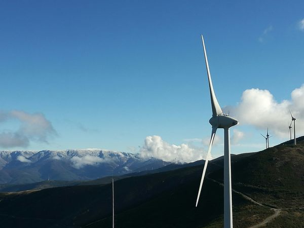 Serra da Estrela Mountain Peak Enercon Cloud - Sky Mountain Landscape Nature Outdoors Beauty In Nature