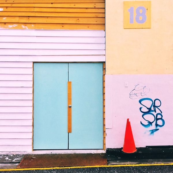 Architecture Building Exterior Built Structure Day Multi Colored No People Outdoors The Architect - 2017 EyeEm Awards Urban Color Urban Geometry