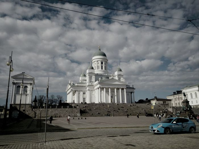 Helsinki Senate Plaza Architecture Walking Around Travel