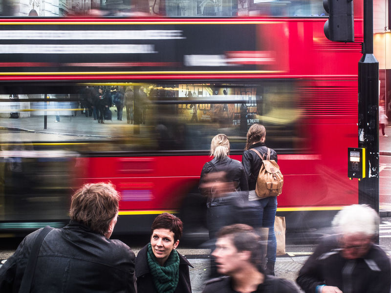 A snap of London daily life, moving bus and people near Piccadilly Circus London Red Trafalgar Transport For London Bus Double Decker Double Decker Bus Landscape People Piccadilly Street Streetphotography Uk England Postcode Postcards