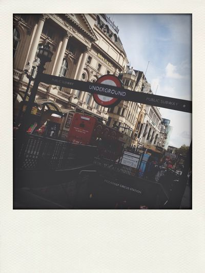 London Piccadilly Circus London Underground City