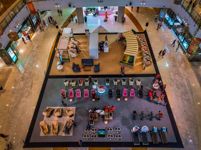 On top High High Section Shotononeplus6 On Top Shopping Mall Shopping Mall City High Angle View