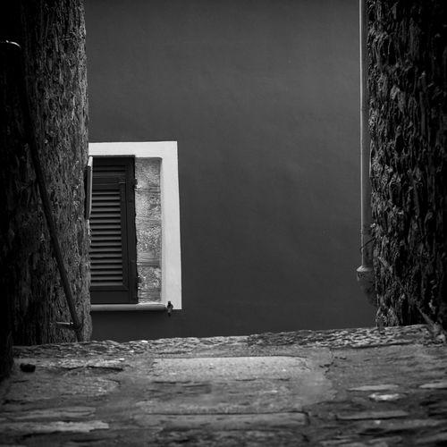 5 Terre Abstract Architecture Black & White Black And White Blackandwhite Blackandwhite Photography Cinque Terre Corniglia Fine Art Fine Art Photography Fineart Frame Italy Stone Wall Wall Art White Frame Window