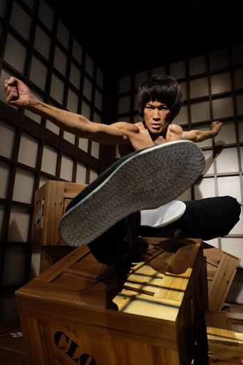 Bruce Lee Wax Figure at Madame Tussauds HongKong photo taken with Fujifilmxt10 Fujifilm Fujifilm_xseries