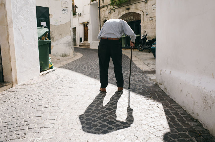 EyeEm Selects One Person People Real People Lifestyles Outdoors Architecture City City Street TheWeekOnEyeEM Streettogs Street Life Street Photography Capture The Moment Streetphotography EyeEmNewHere Italia Street Italy Everybodystreet