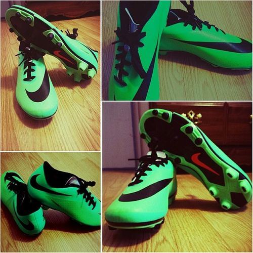 New shoes for ruby season. Hypervenom Nike Wingman