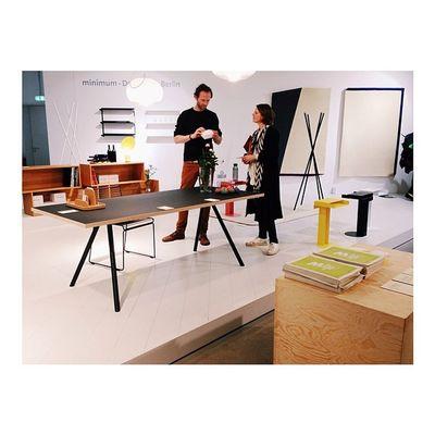 Minimum Aufbauhaus Berlindesignweek Dmyberlin Minimumstart