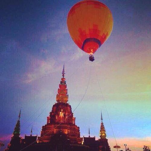 Skye Fire Balloon The Setting Sun