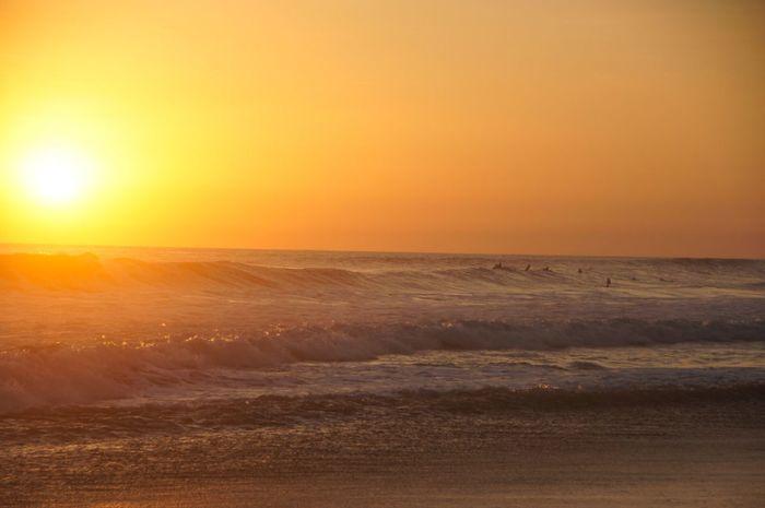 Costa Rica Surf Sun Sunset Atmosphere Wave