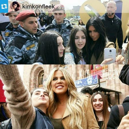Repost @kimkonfleek ・・・ 👱📷👸 Kim and Khloe Always Make Time To Talk and Take Pictures With Their Fans!! 👱📷👸 @kimkardashian @khloekardashian @pascalduvier Iminlovewiththekoko Kimye KUWTK kkth koko kardashians yeezus yeezy kanyewest mrswest kimkardashianwest keeks keeksonfleek queenofbeauty kourtneykardashian kimkallday kimkardashian kuwtk10 armenianbeauty kimwest khlomoney hatersmakemefamous makeupbymario yerevan armeniabound richandfamous armenia khloekardashian keepingupwiththekardashians