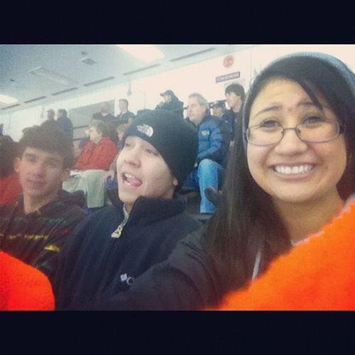 Hockeygame and Tailgateparty with these guys :) Wewon Wootwoot