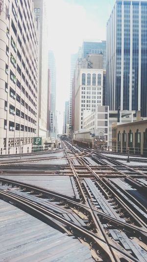 Public Transportation Subway Taking Photos Urban Exploration Chicago
