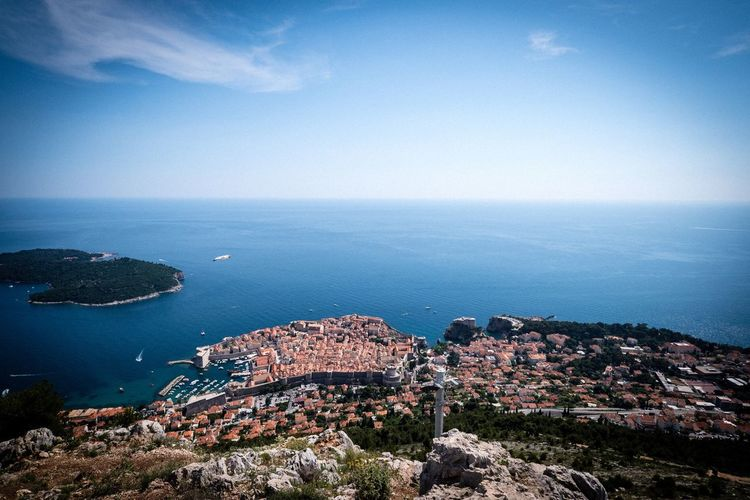 Dubrovnik Dubrovnik Dubrovnik, Croatia Sea Water Horizon Over Water Beauty In Nature Scenics - Nature Horizon Sky Nature Architecture