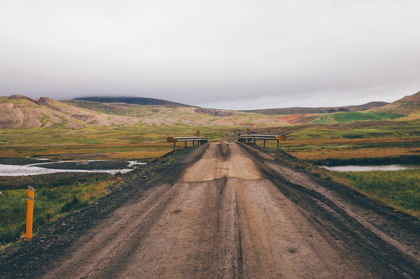 Bridge Clouds Green Iceland Landscape Mud Muddy Nature Outdoors Outside River Road Roadtrip VSCO Vscocam