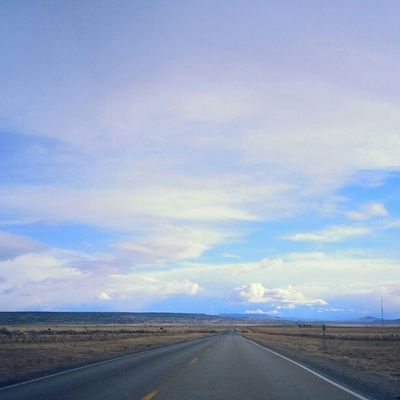 Yesterday's sky! HWY6 Notell Bbehrphotos Gooddays bluesky NM beautyofthesky