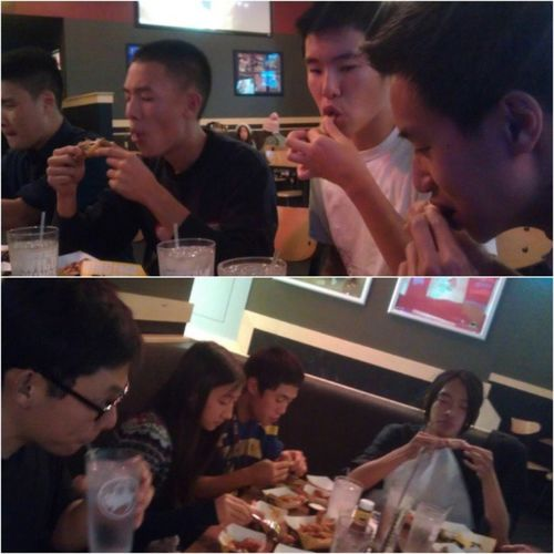 BWW with the 6:00 crew! Happy birthday Kent :) #10habanero never again #buffalowildwings #bww #mango #habanero #blazing #6oclock Blazing Mango BWW Habanero BuffaloWildWings 6oclock 10habanero