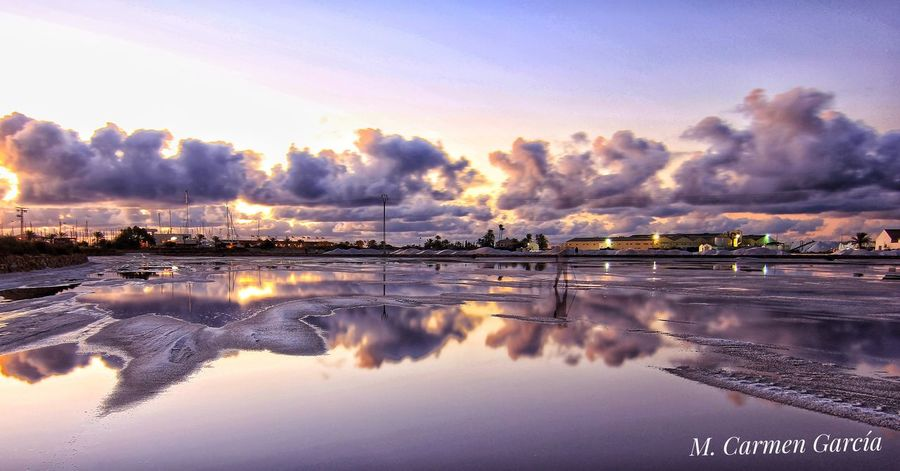 Be. Ready. Reflection Cloud - Sky Sunset Sky Backgrounds Water Beauty Nature Sea Outdoors No People Landscape Scenics Beauty In Nature Vacations Night Nature Photography Sky Nature