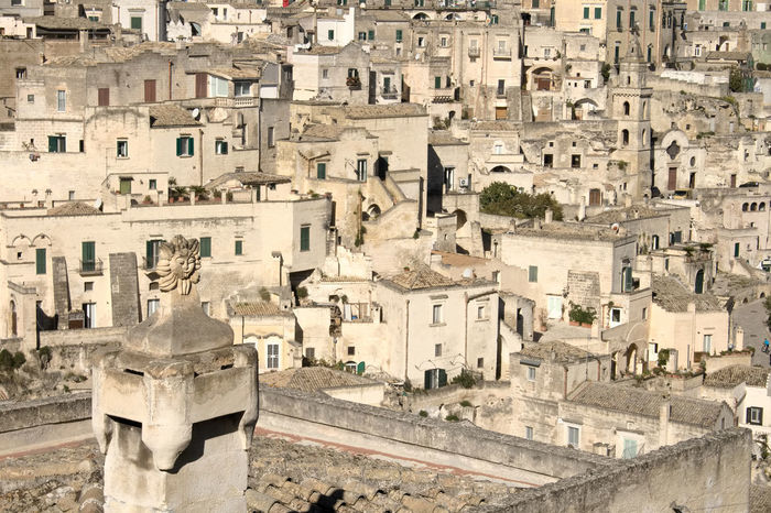 View of Sassi of Matera, Unesco Heritage and European Capital of Culture 2019. Basilicata. Italy. Old houses carved into the rock. Architecture Building Exterior City Built Structure Building The Past History Travel Destinations Town Crowd Day Ancient Travel Residential District Tourism Crowded Cityscape Ancient Civilization Matera Basilicata, Italy  Capital Of Culture 2019 Sassi Di Matera World Heritage Stones