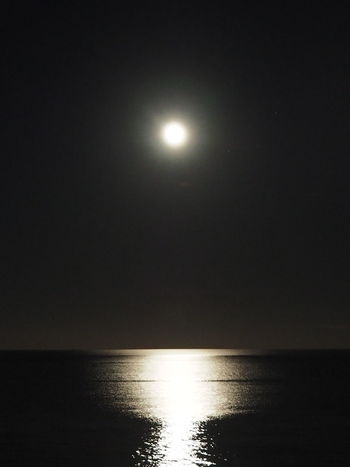 Fantastic Water Reflection Night Atmosphere Bright Moon Black And White Decorative Art Water Horizon Over Water Fantastic Atmosphere Silver Streaks On The Horizon No People Romantic Silver Streaks In The Water Sparkling Water EyeEmNewHere