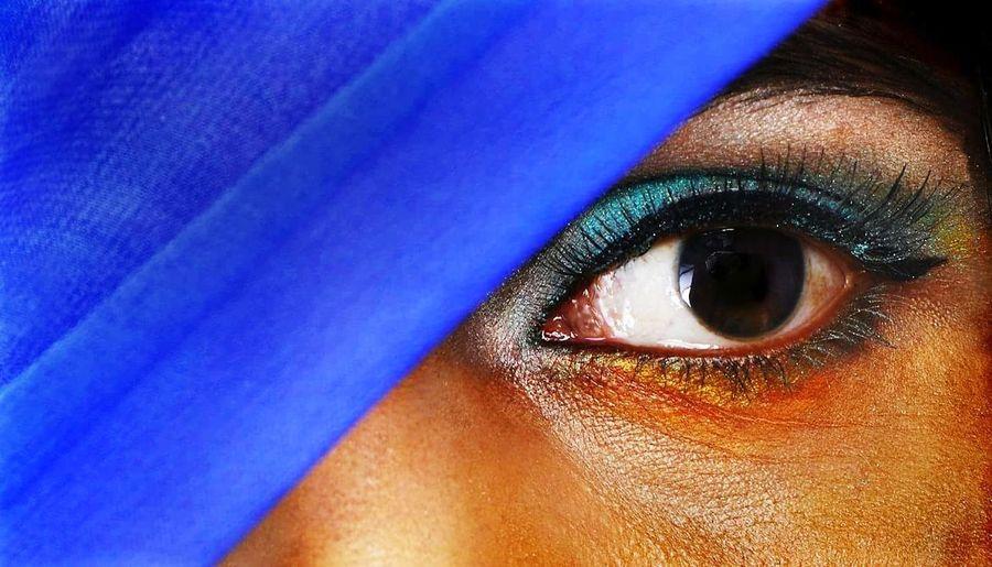 Blue Eye Human