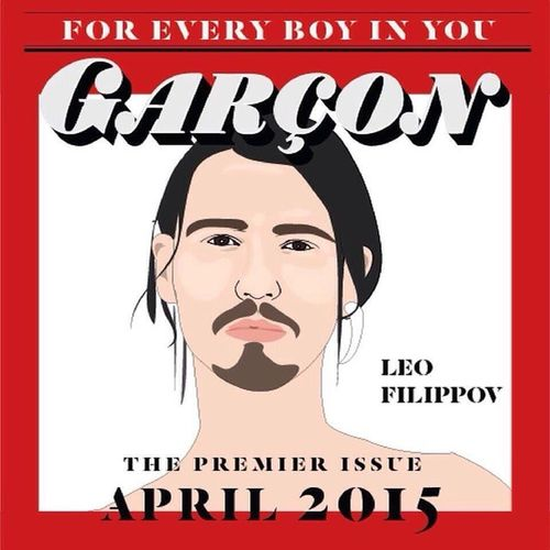 Это типа я)) превью нового журнала. The wait is over! Lips Garçon the premier issue, see you on stand April 2015. @Lipsgarcon_official LipsGarcon LipsGarconPremierissue LipsNewEra VRLipsFamily