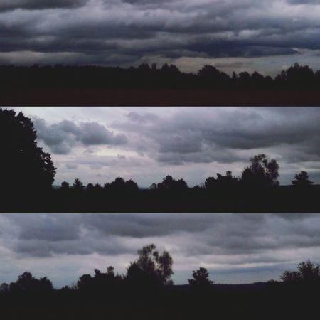 Sky And Clouds Skydark Rain Sky