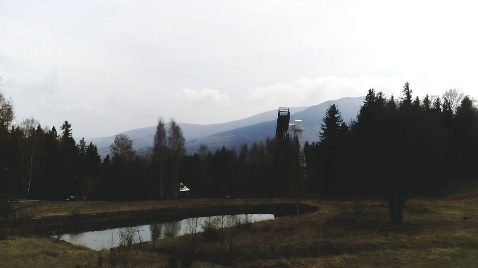 Mountain Mountain View Mountains And Sky Nature Cloud - Sky Beauty In Nature Water Wonderland Karpacz Karkonosze Karkonoszewsercunosze ❤.