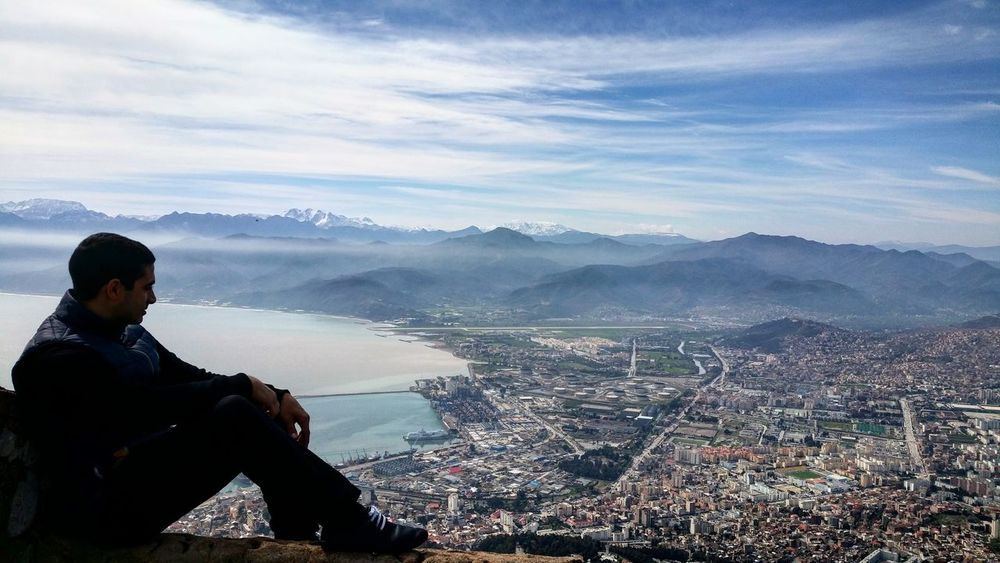 A superb view of the city Bejaia from mountain yemma gouraya City Bejaia- Algeria Sky Clouds Clouds And Sky Beach Mountains Great View View Beautiful Day Good Times Best Shots EyeEm Taking Photos Photography Nature Landscape Picture Enjoying Nature Wonderful Place Eyem Gallery Eye4photography  Mountain View Travel Photography Light And Shadow