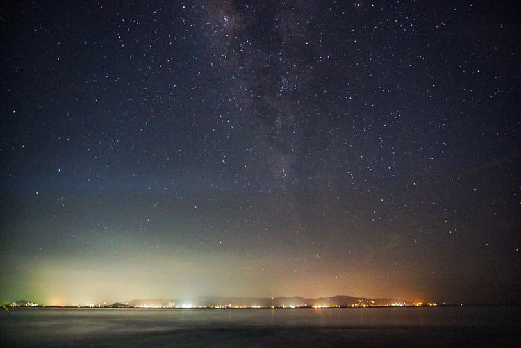 Blanket of stars over Koh Samui Night Star - Space Scenics Tranquility Beauty In Nature Sky Astronomy Galaxy EyeEmNewHere