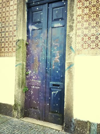 Cityscape Door Graffiti Porto