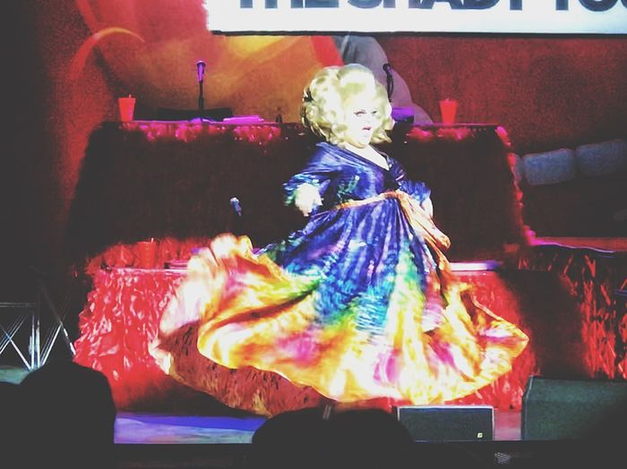 Ginger Minj.... Performance Show Gown Drag Queen Dragqueen  Drag Gay Indoors  One Person Christmas Celebration Real People Night Christmas Decoration Full Length Christmas Lights People