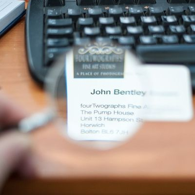 Businesscard Magnify Keyboard Bolton landscape portrait photographer http://fourtwographs.co.uk/open-edition-prints/ for a wide selection of fine art prints with FREE UK SHIPPING