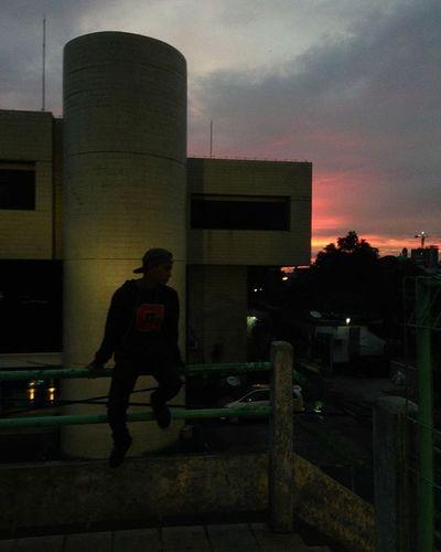 Explore Exploreindonesia Explorepalembang Urban Palembang Palembangjalanjalan Sunset