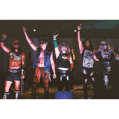 The world's first and ONLY heavy metal mariachi band. Metalachi La Plazadeculturayartes Vscocam mariachi headbanger socalmoments