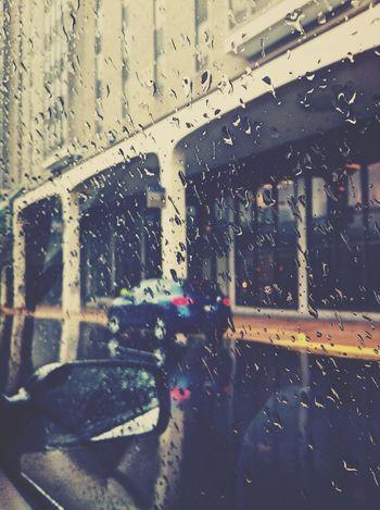Stlouis Rain Taked By Me Car