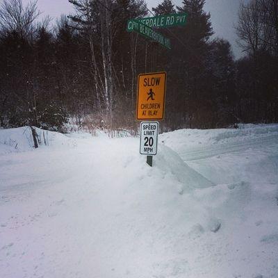 Snow plow banks Winterproblems Winter Vt Vtphoto vermont vermontbyvermonters greenmountainstate instagood photooftheday igvermont ignewengland underhillvt vermontroads