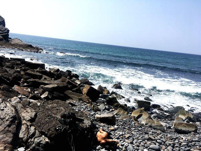 ömer Cressi Sealife Spearfishing Atlantic Ocean Sea Water Beach Horizon Over Water Horizon Sky Scenics - Nature Wave Nature Tranquility Day Rock Sport Outdoors Aquatic Sport Beauty In Nature