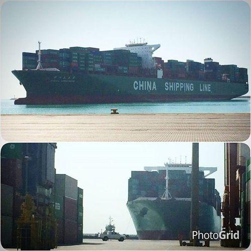 ... بزرگترین شناور کانتینری که تا کنون در ایران پهلو گرفته است/ بندر شهید رجایی - ترمینال ۲ ( سینا ) / بندرعباس ... Thursday, September 24 ... Name: Cscl Uranus  🚢 Owner: China Shipping  Container Line Flag / Nationality: HongKong Shipyard: Samsung Shipbuilding & Heavy industries Co. Ltd, South Korea ... Overall Length (m): 366,10 Overall Beam (m): 51,30 Maximum Teu capacity: 14300⏪ Completion Year: 2012 / 03 ... Shahid_Rajaei Port, Container Operation BandarAbbas Port plays a vital role in serving Iranian and the regional markets with several shipping lines and frequent services connecting the Bandar abbas port to major commercial ports worldwide ... Sina Port and Marine Services SPMCO . ... 📷 By @amirrfi ... Mustseeiran Mustseehormozgan Hormozgan Photogrid ایران_را_باید_دید هرمزگان بندرعباس هرمزگان_را_باید_دید اسکله شهید_رجایی خبر ...