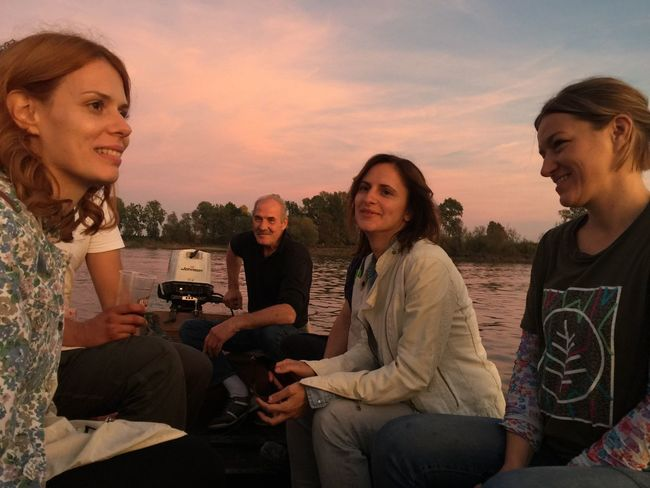 Sunset boat ride, Slavonski Brod, Croatia, 2017. No Filter No Edit/no Filter No Edit Boat Ride Boat River Sunset Slavonski Brod Croatia Leisure Activity Friendship Togetherness Outdoors Happiness Lifestyles
